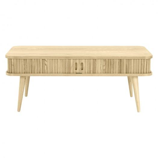 Table basse Talamanca en bois clair