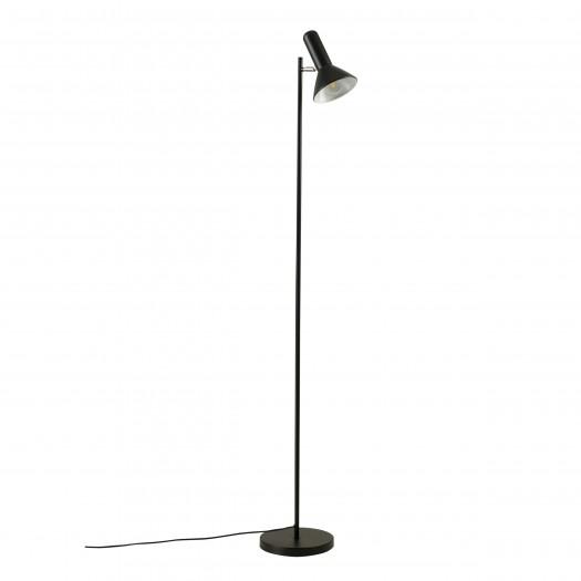 Lampadaire laly en métal noir H165cm