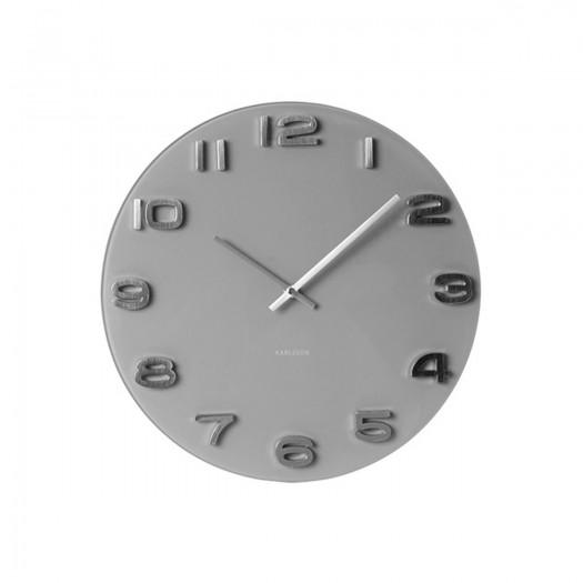 Horloge grise Marius