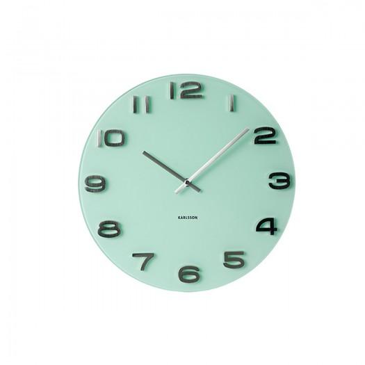 Horloge turquoise Marius