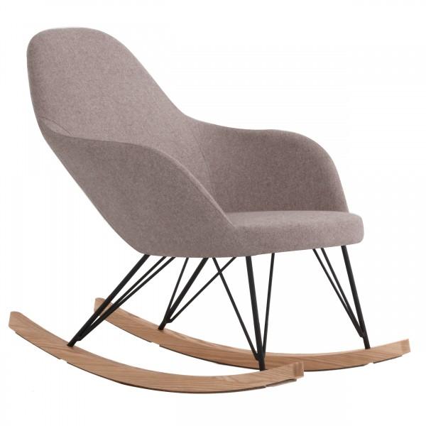 Rocking chair Nordic beige