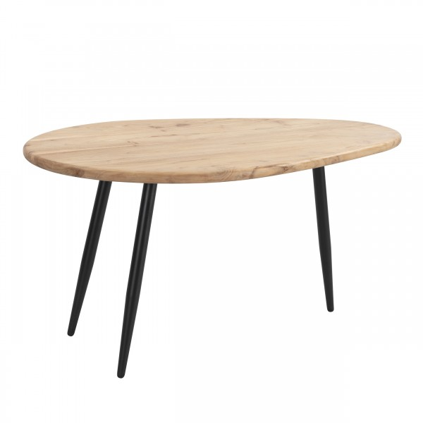 Table basse Bulma en bois d'acacia