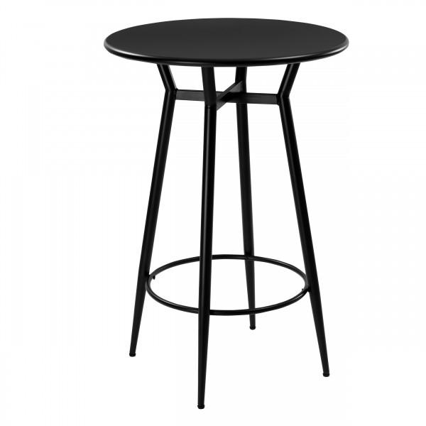 Table de bar Butler en métal noir