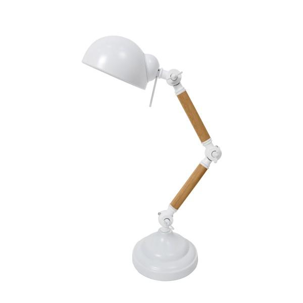 Lampe à poser Factory blanche