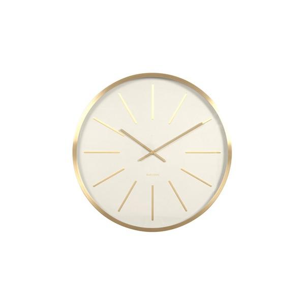 Good horloge blanche anton with horloge blanche design - Grande horloge murale blanche ...