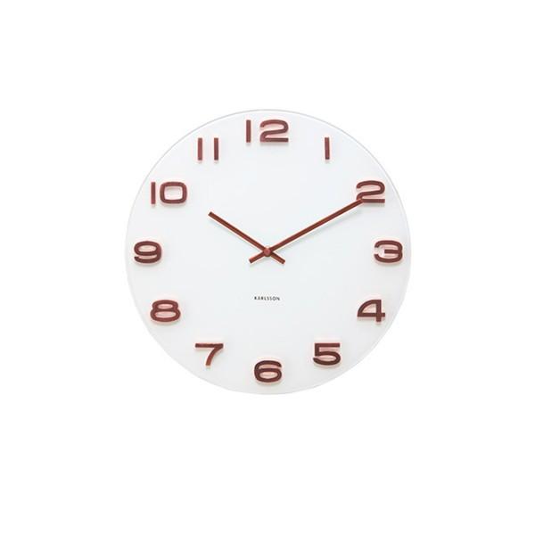 Horloge blanche Marius