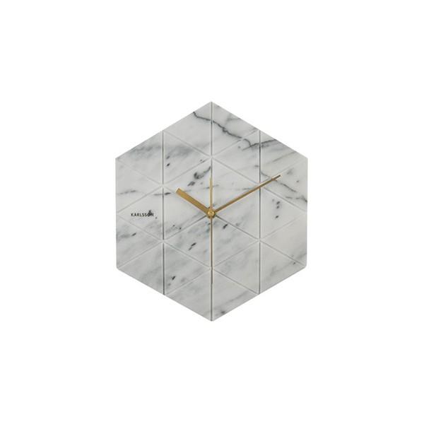 Horloge blanche Oscar