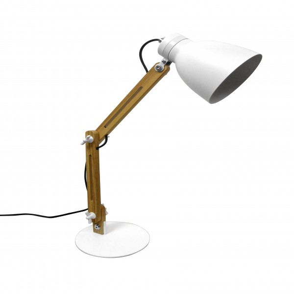 Lampe à poser Architecte blanche