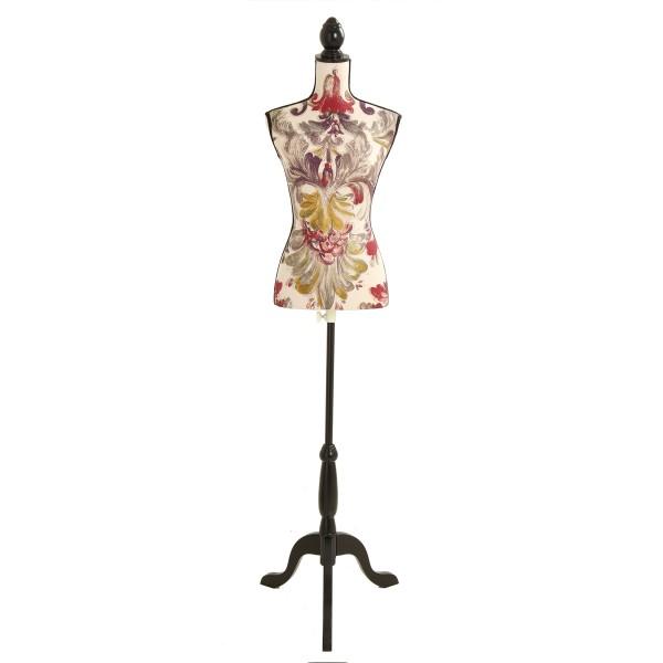 Mannequin couture Fleuri