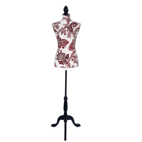 Mannequin couture Rouge et Noir