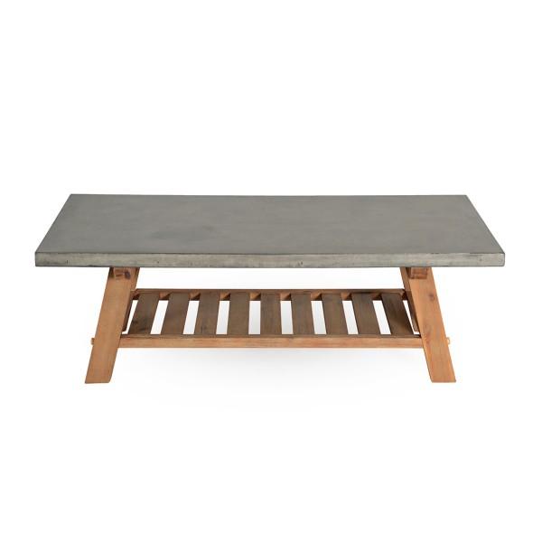 Table basse stone en béton