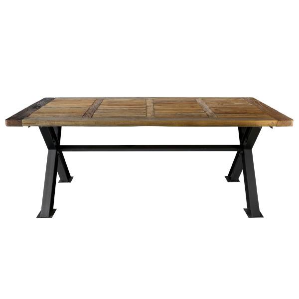 Table 200 cm en bois recyclé