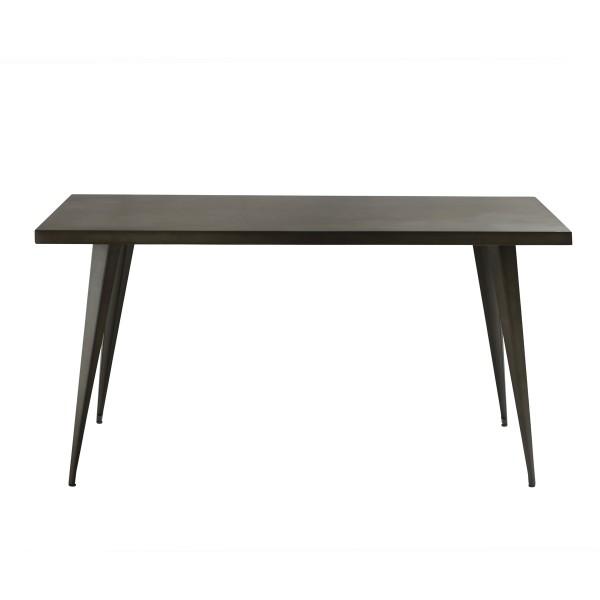 Table rectangulaire en métal 150cm